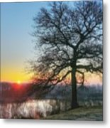 Sunrise At Amelia Earhart Home. Metal Print