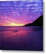 Sunrise At Bray Head, Co Wicklow Metal Print