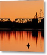 Sunrise At Burbank Metal Print