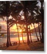 Sunrise At Catseye Beach Metal Print