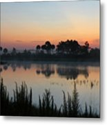 Sunrise At Cecil B. Webb Metal Print