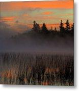Sunrise At Connery Pond 1 Metal Print