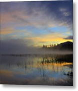 Sunrise At Connery Pond 3 Metal Print