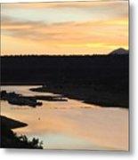 Sunrise At Crawley Lake Metal Print