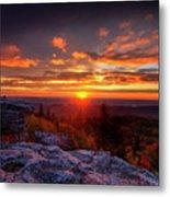 Sunrise At Dolly Sods At Bear Rocks Metal Print