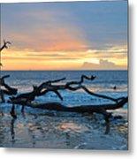 Sunrise At Driftwood Beach 1.4 Metal Print
