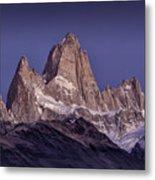 Sunrise At Fitz Roy Patagonia 8 Metal Print