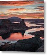 Sunrise At Lake Powell Metal Print