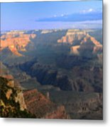 Sunrise At Mather Point  --  Grand Canyon  Metal Print