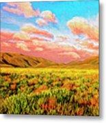 Sunrise At Montana De Oro Metal Print