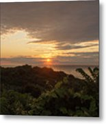 Sunrise At Montauk Point State Park Metal Print