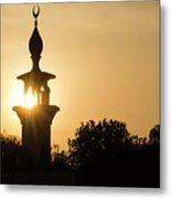Sunrise At Mosque Of Tadjourah In Djibouti East Africa Metal Print