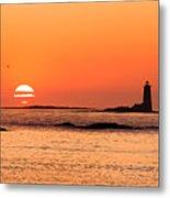 Sunrise At Odiorne Point 1 Metal Print