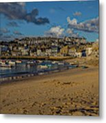 Sunrise At St Ives Metal Print