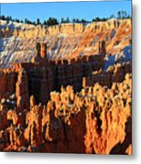 Sunrise At Sunset Point In Bryce Canyon National Park Metal Print