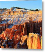 Sunrise At Sunset Point In Bryce Canyon Metal Print