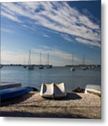 Sunrise At The Bay Metal Print