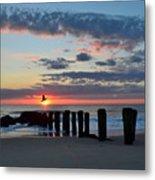 Sunrise At The Jersey Shore Metal Print