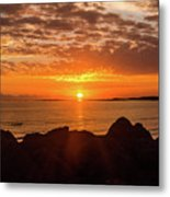 Sunrise At The Jetty Metal Print