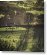 Sunrise At The Sheep Farm Metal Print