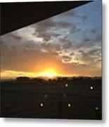 Sunrise Before Class Metal Print
