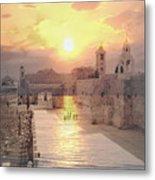 Sunrise Bethlehem Metal Print