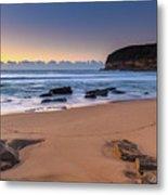 Sunrise By The Seaside Metal Print