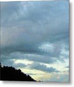 Sunrise Clouds Metal Print