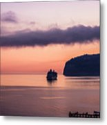 Sunrise Departure Metal Print