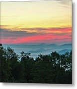 Sunrise From Maggie Valley August 16 2015 Metal Print