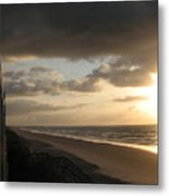 Sunrise From The Porch II Metal Print