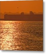 Sunrise Ft Adams Metal Print