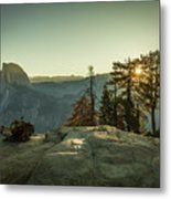 Sunrise Glacier Point Metal Print