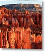 Sunrise Hoodoos In Bryce Canyon Metal Print