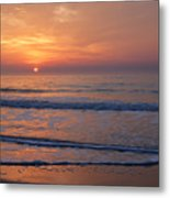 Sunrise Huntington Island State Park Metal Print