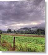 Sunrise In Boxley Valley Metal Print