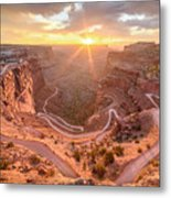 Sunrise In Canyonlands Metal Print