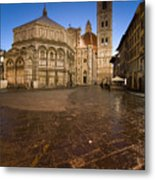 Sunrise In Florence 2 Metal Print