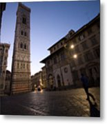 Sunrise In Florence 3 Metal Print