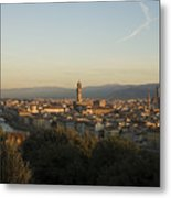 Sunrise In Florence Metal Print