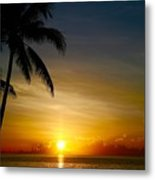 Sunrise In Florida / A Metal Print