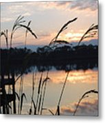 Sunrise In Grayton 3 Metal Print