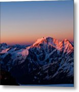 Sunrise In Mountains Metal Print by Iurii Zaika