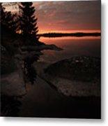 Sunrise In Pyynikki Metal Print