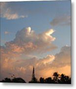 Sunrise In Sosua, Dr Metal Print