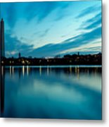 Sunrise In The Capital Metal Print