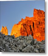 Sunrise In Torres Del Paine Metal Print