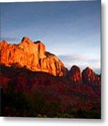 Sunrise In Utah Metal Print