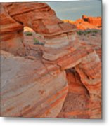 Sunrise In Valley Of Fire State Park Metal Print