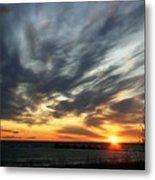 Sunrise Lake Huron 3 Metal Print